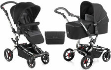 New Jane Epic pushchair with micro carrycot black chrome s49  bag & raincover