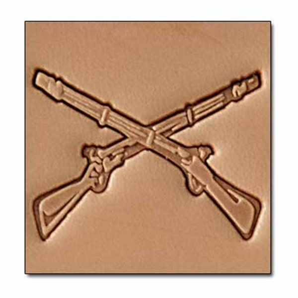 3d Rifles Stamp 8688 00 Tandy Leather Stamping Tool Rifle Stamps