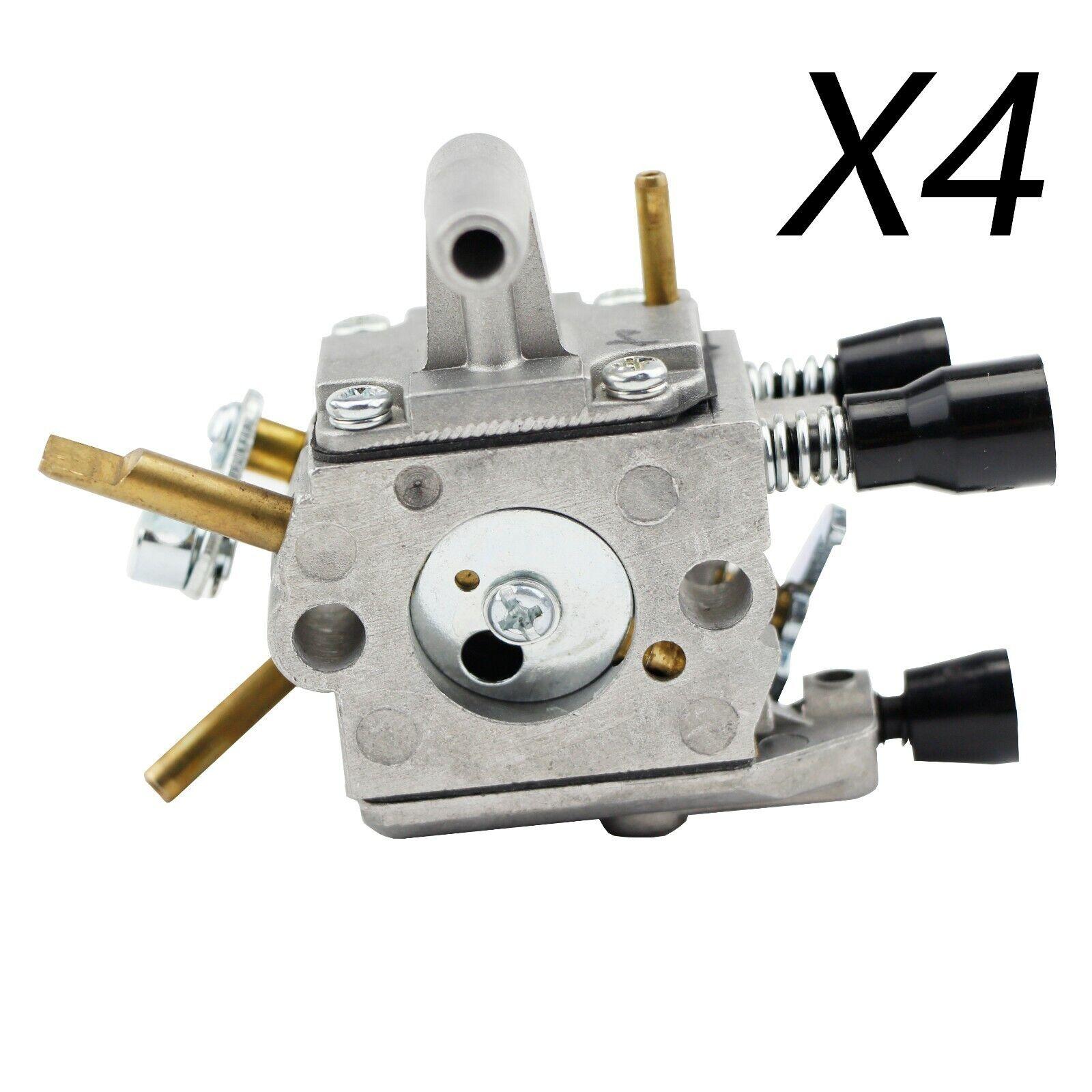 4X Cocheburador para Stihl FS120 FS200 FS250 Podadora Desbrozadora OEM 4134 120 0603
