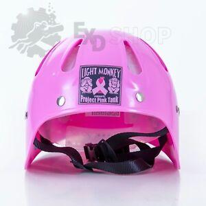 Light Monkey Cave Helm pink