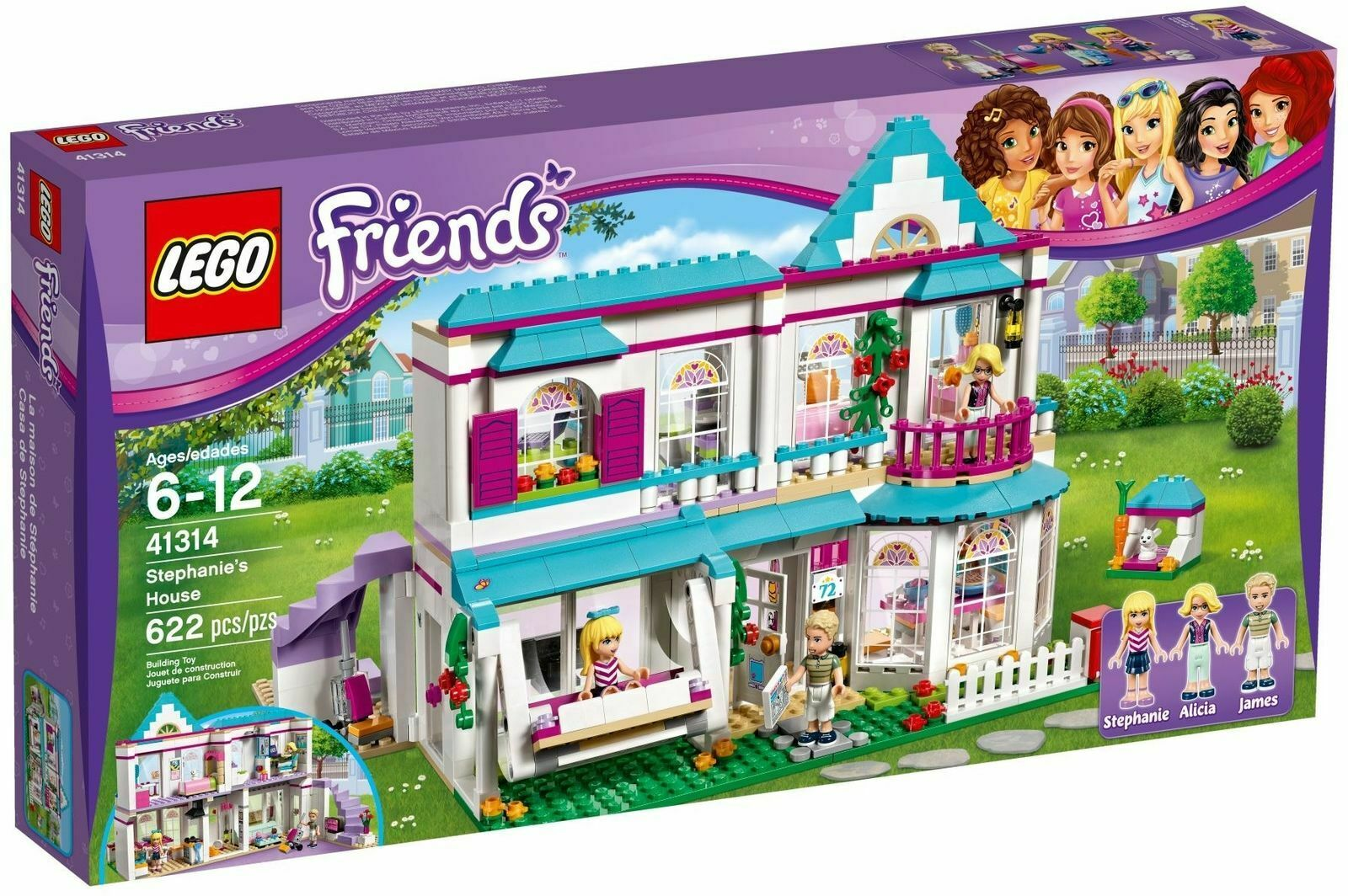 Lego Friends 41314 Stephanies Casa - Nuovo   Conf. Orig.