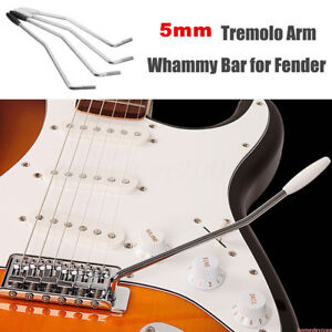 5mm 6mm Tremolo Arm Whammy Bar for Fender Squier Strat Bass Guitar