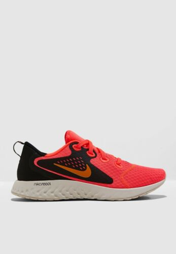 5 Wmns 4 Flash orange React Nike Legend 5 4 Unido Sizes 603 5 Reino Aa1626 Crimson Peel qwgRST6