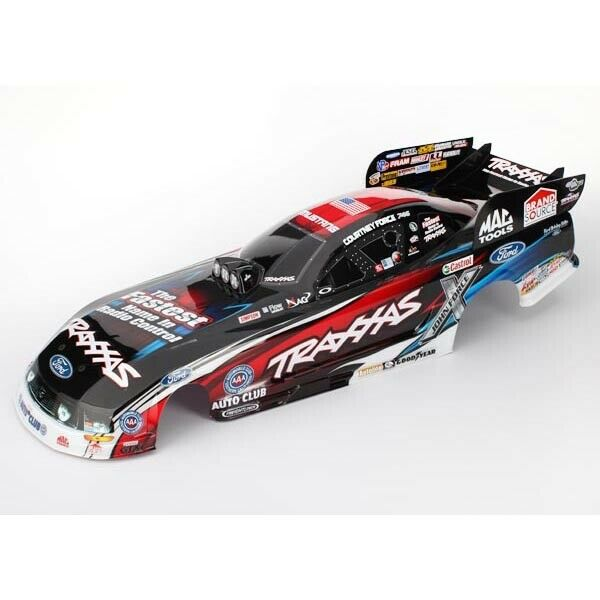 FREE SHIPPING  TRAXXAS  6911X Body Ford Mustang Courtney Force (painted decals