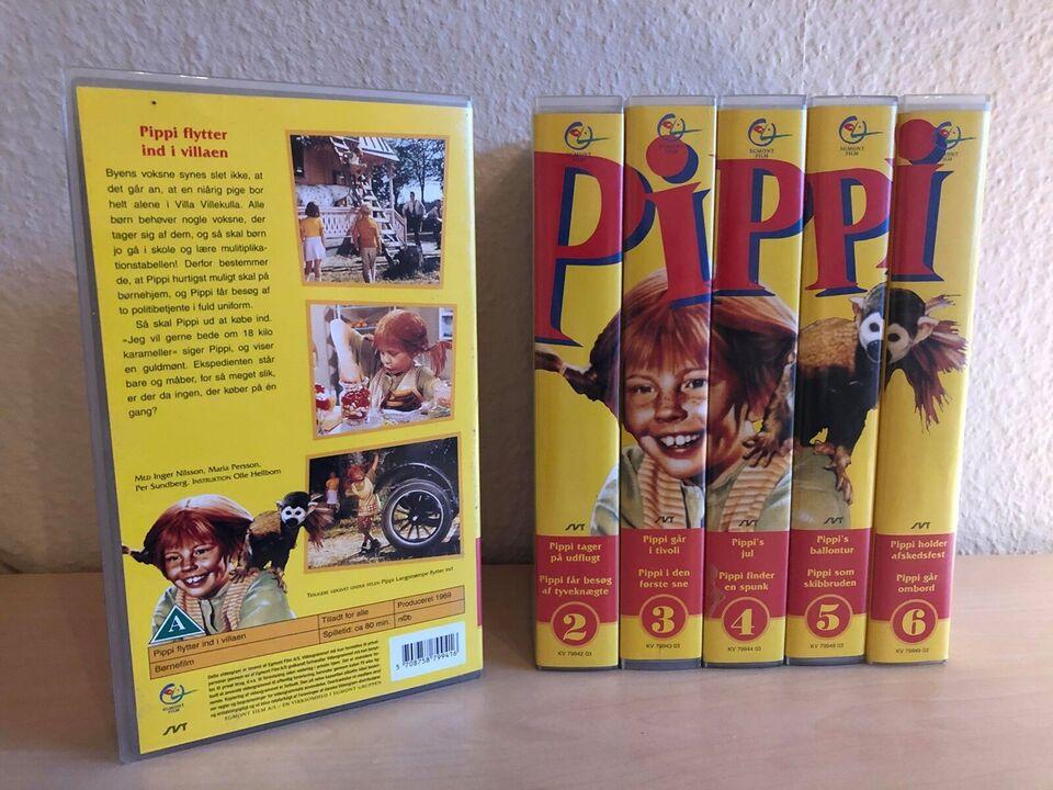 Børnefilm, Pippi serie