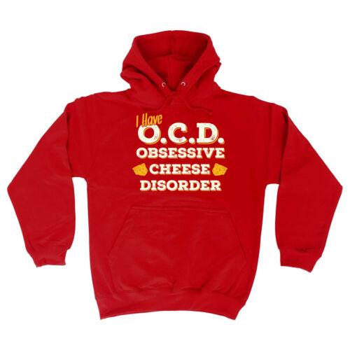 Funny Hoodie Birthday tee Gift Novelty hooded top HOODY Obsessive Cheese