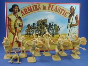 ARMIES-IN-PLASTIC-5441-BEJA-TRIBESMAN-EGYPT-SUDAN-20-Unpainted-Figures-FREE-SHIP