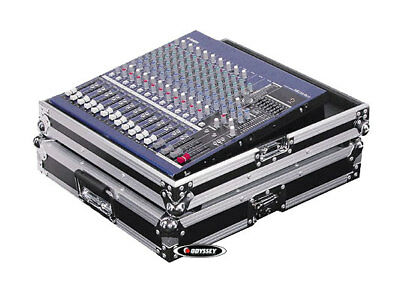 Odyssey Cases FZCFX16 New Flight Zone Mackie Cfx16Mkii DJ Sound Mixer Ata Case