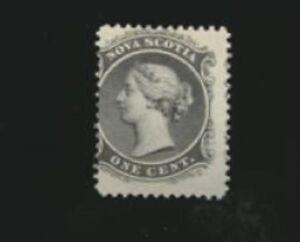Nova-Scotia-8-Mint-Never-Hinged-1860-Queen-Victoria-Issue-OFF-Center