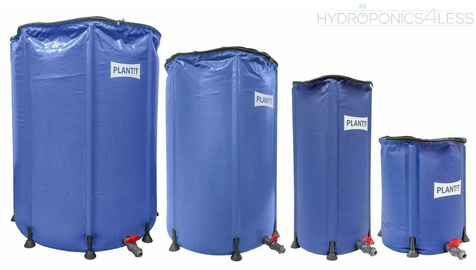 Flexi Tank Collapsible Compact Hydroponics Water Butt 60 100 250 500 780 1100L