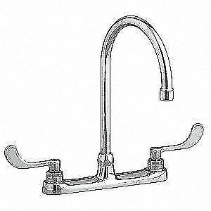 American Standard 6409170 002 Monterrey Top Mount Gooseneck Kitchen Faucet For Sale Online Ebay