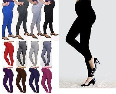 Womens Full Length Maternity Cotton Leggings Comfort Warm Pregnancy Wear Mtrlgs Verbraucher Zuerst