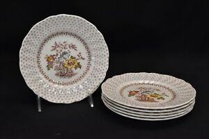 Royal-Doulton-Grantham-D5477-Set-of-6-Bread-amp-Butter-Plates