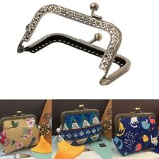 1X 27cm Metal Frame Clasp DIY Handbag Coin Purse Lock Arch Frame Accessories