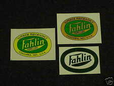 Fahlin Propeller Decals Water Slide Type just like the originals Choice 3 diff.