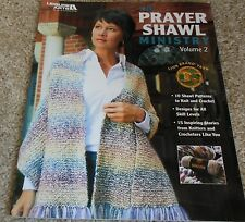 THE PRAYER SHAWL MINISTRY volume 2 pattern book ON SALE