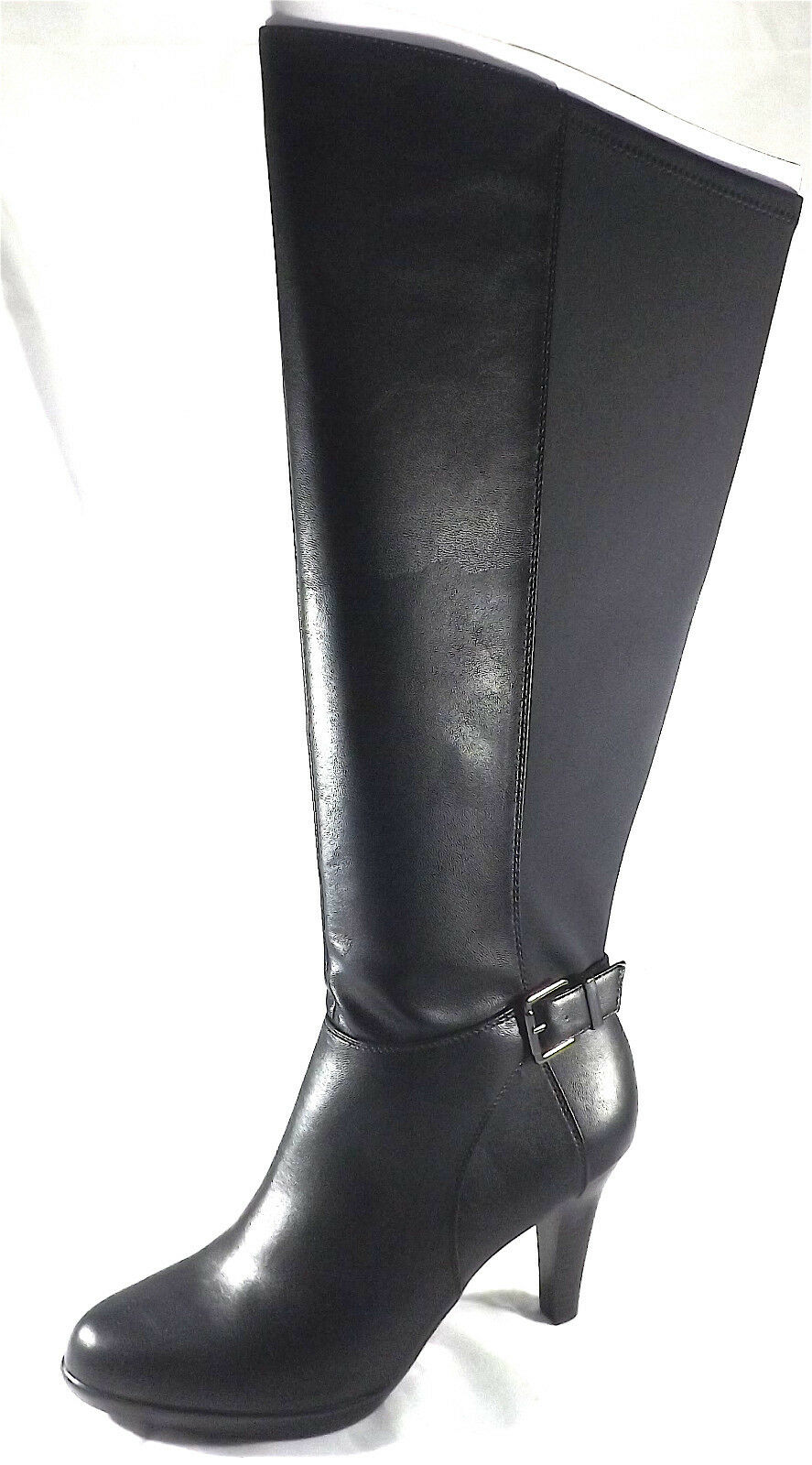 ALFANI (VENNUSS RIDING WIDE CALF BLK BOOT) WOMENS SIZE 8 8 8 NEW d82c73
