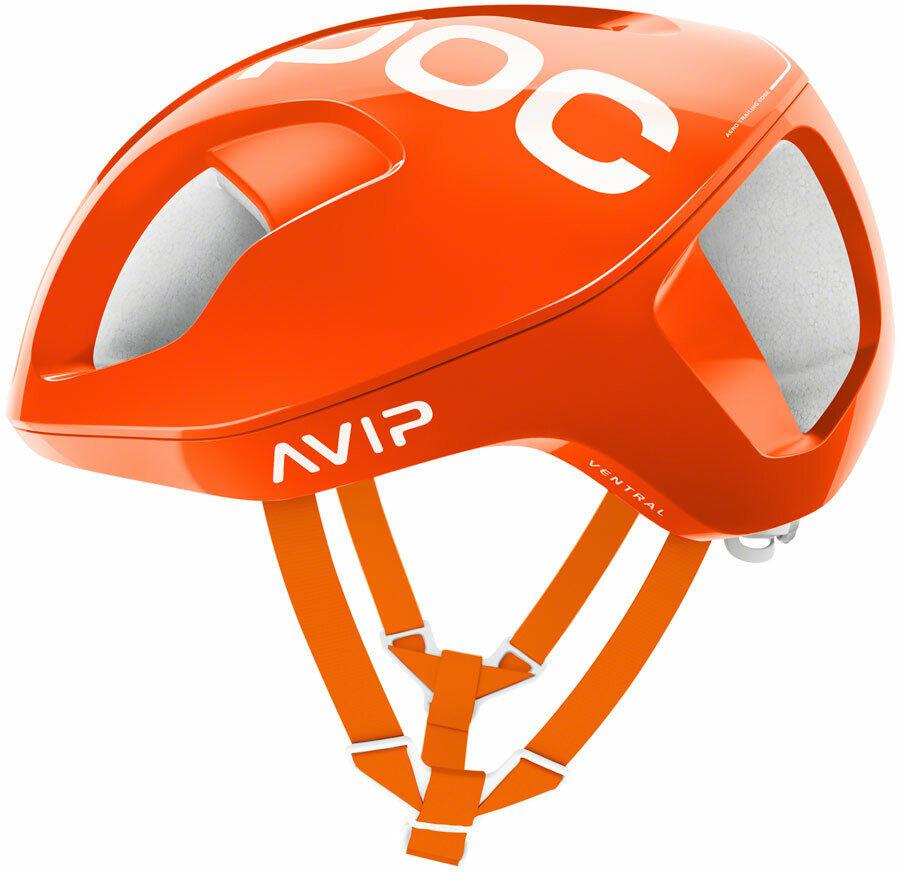 POC Ventral SPIN Helmet  Zink arancia AVIP LG
