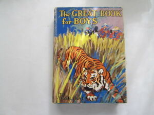 Acceptable-The-Great-Book-for-Boys-the-Tiger-Hunt-Strang-Herbert-Ed-Fox