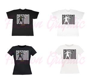 Bambino: Abbigliamento Abbigliamento E Accessori 2019 Latest Design T-shirt Cristiano Ronaldo Cr7 Bianca Nera Bimbo Bambino Bambina Juve Calcio