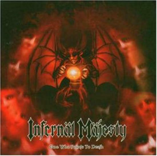 Infernal Majesty - One Who Points To Death CD #18964