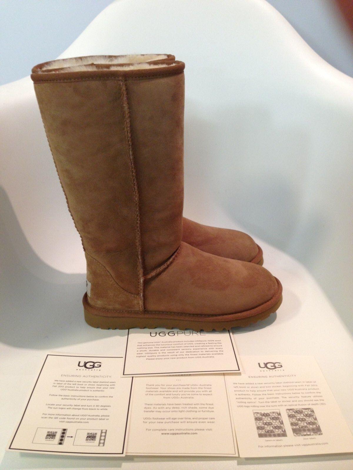 UGG Australia Classic Tall II Chestnut Boot Damengröße 5-11 / 36-42 NEU
