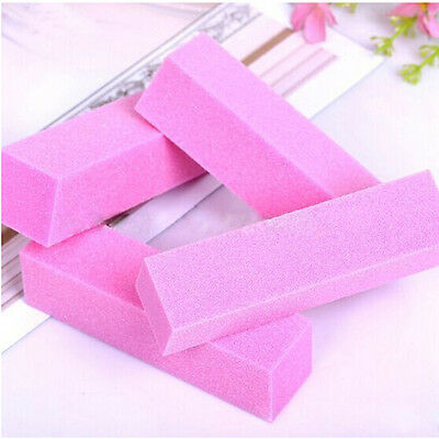 2/5/10 Nail Art File Buffer Buffing Block Set for Sanding Manicure Pedicure AU18