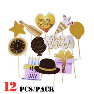 12pcs-set-DIY-Photo-Booth-Props-Mask-Stick-Wedding-Birthday-Party-Decorations