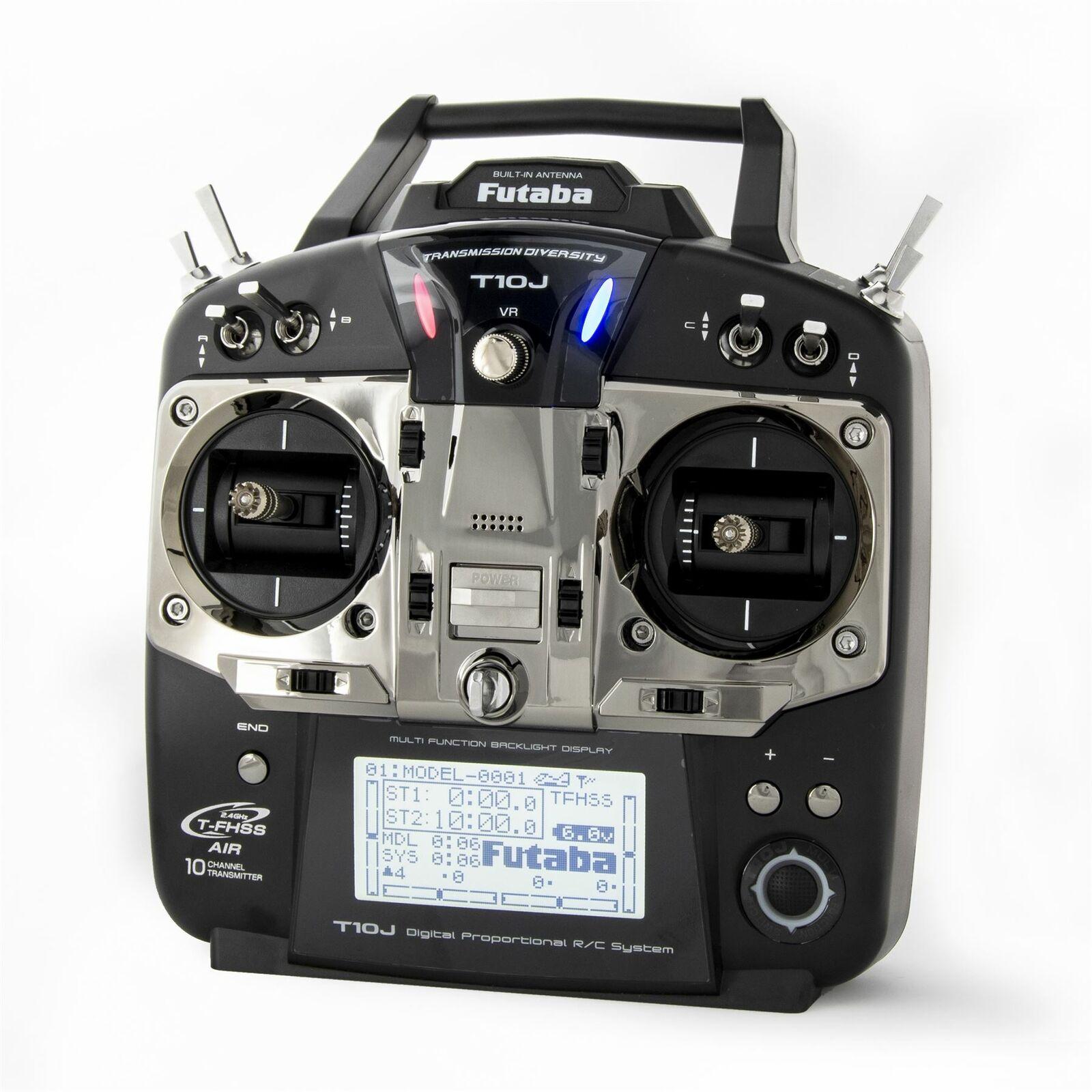 Futaba - T10JA 2.4GHz T-FHSS Airplane Spec Radio System w  R3008SB Receiver