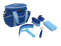 Knight Rider Horse / Pony BLUE grooming kit, complete with bag and accessories