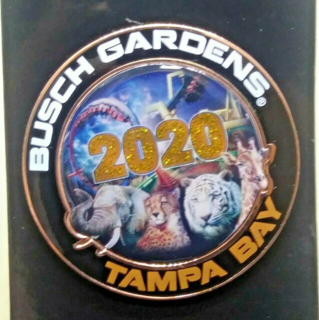 Busch Gardens View Master Pin Special Edition 60th Anniversary Pin HTF Revolves