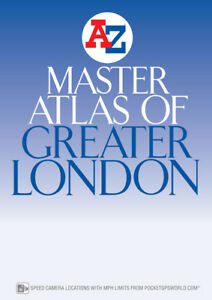 Az Street Map Of London.Details About Master Atlas Of Greater London By A Z Maps Street Map Paperback 2019