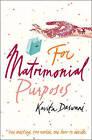 For Matrimonial Purposes by Kavita Daswani (Paperback, 2003)