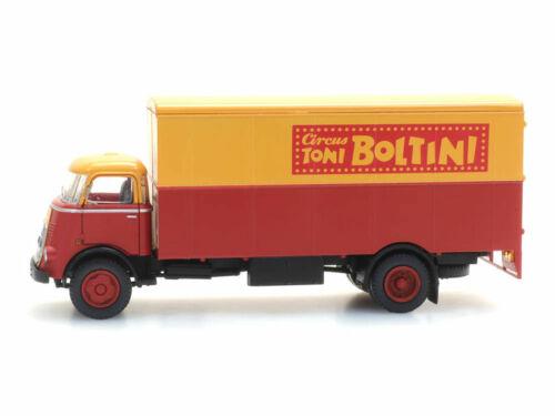Artitec 487.032.14 H0 LKW DAF Kabine Zirkus Boltini