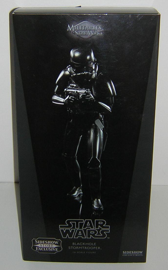 alta calidad Estrella Wars Sideshow Coleccionables Coleccionables Coleccionables 1 6 12 pulgadas negrohole Stormtrooper  gran descuento