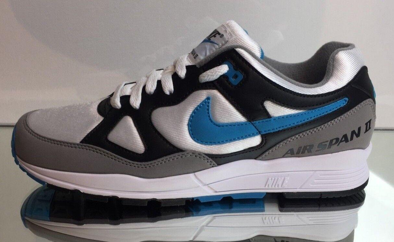 Nike Airspan II 2 AH8047 001 Laser bluee Black white Retro