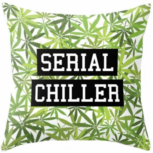 """Cushion Home Case Sofa Fashion Cover Decor 18/"""" Throw Cotton Natural Linen Pillow"""
