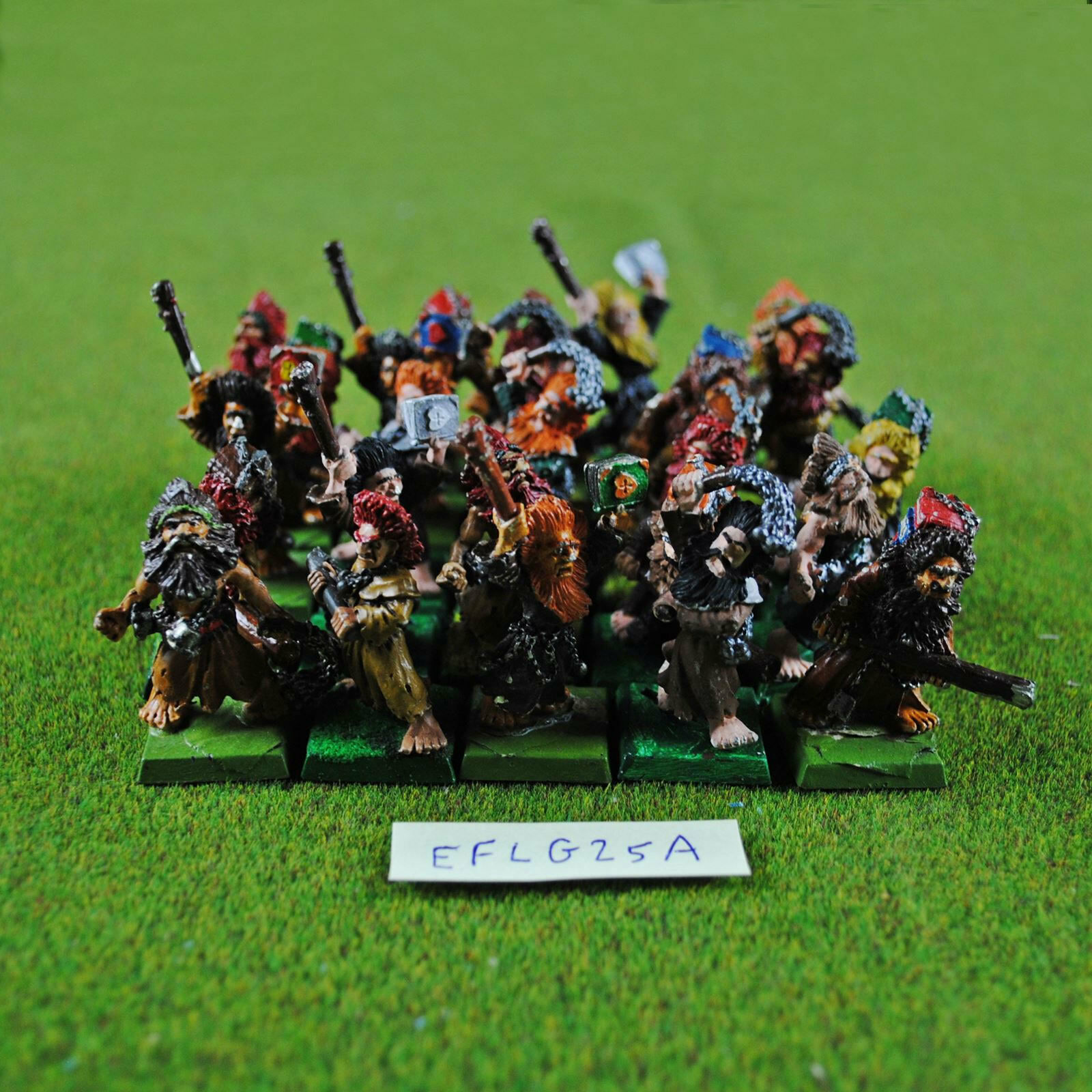 Warhammer Classic Empire Flagellants (25 Poorly Painted) Metal - OOP GW Citadel