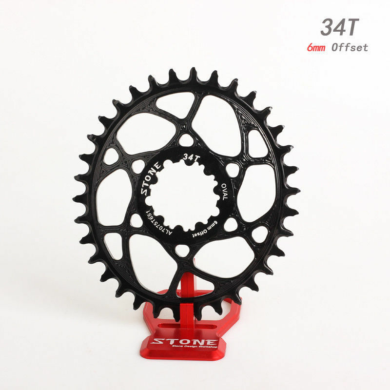 Oval Chainring 6mm offset for Sram GXP xx1 Eagle GX X0 X9 1xSystem narrow Wide