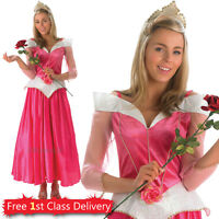 Adult Sleeping Beauty Fancy Dress Costume Disney Official Princess Book Week