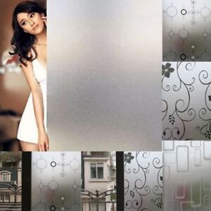 45CMx2M-Frosted-Bedroom-Bathroom-Glass-Window-Door-Privacy-Film-Sticker-PVC