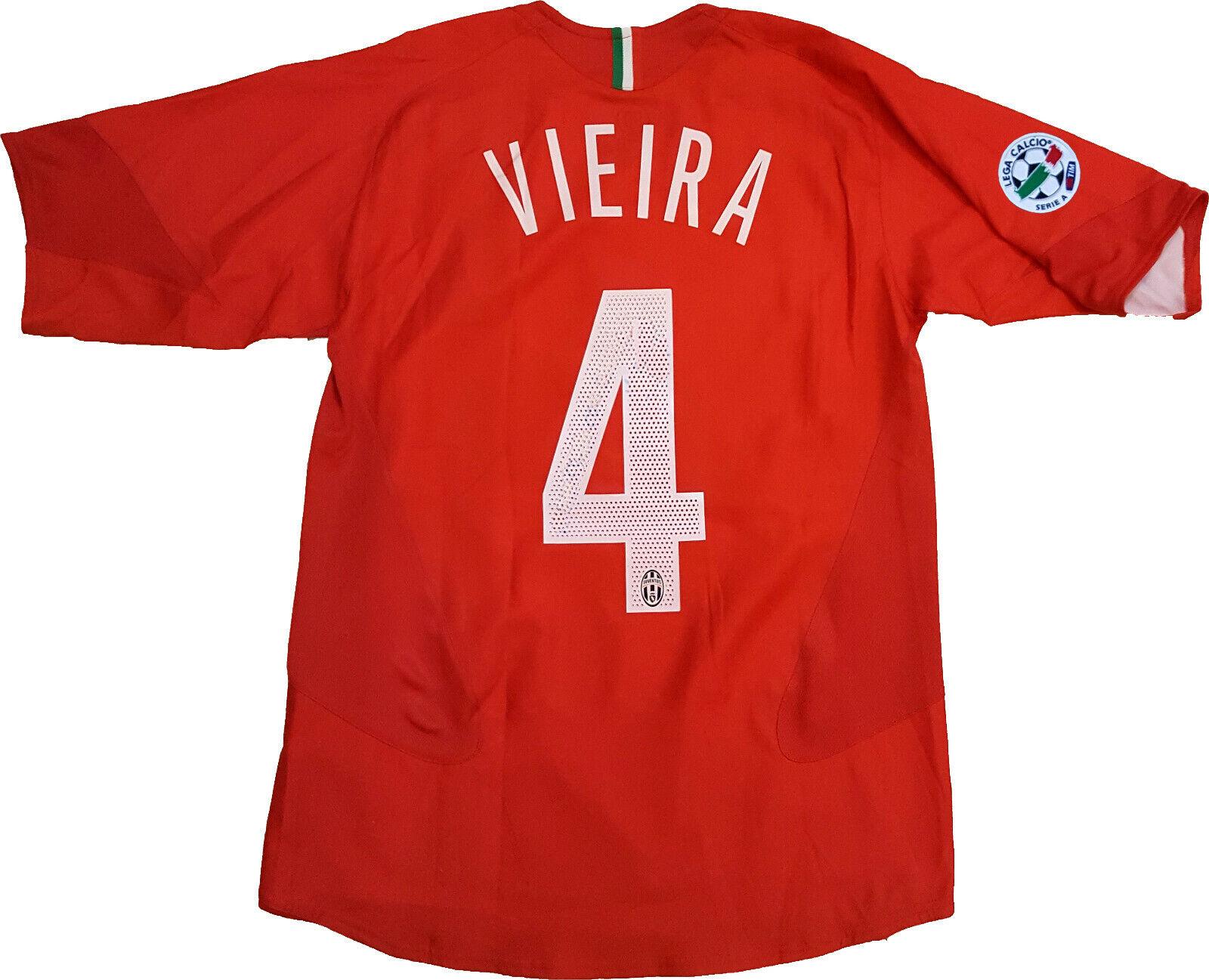 Maglia Vieira Juventus maglia NIKE shirt 2005 2006 ADP 10 home jersey TAMOIL XL