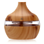 saengQ Electric Humidifier Essential Aroma Oil Diffuser LED Light Wood USB Air
