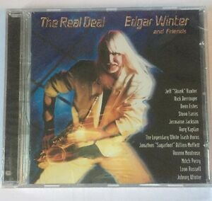 CD Music Edgar Winter amp Friends Real Deal New Sealed - Godalming, Surrey, United Kingdom - CD Music Edgar Winter amp Friends Real Deal New Sealed - Godalming, Surrey, United Kingdom