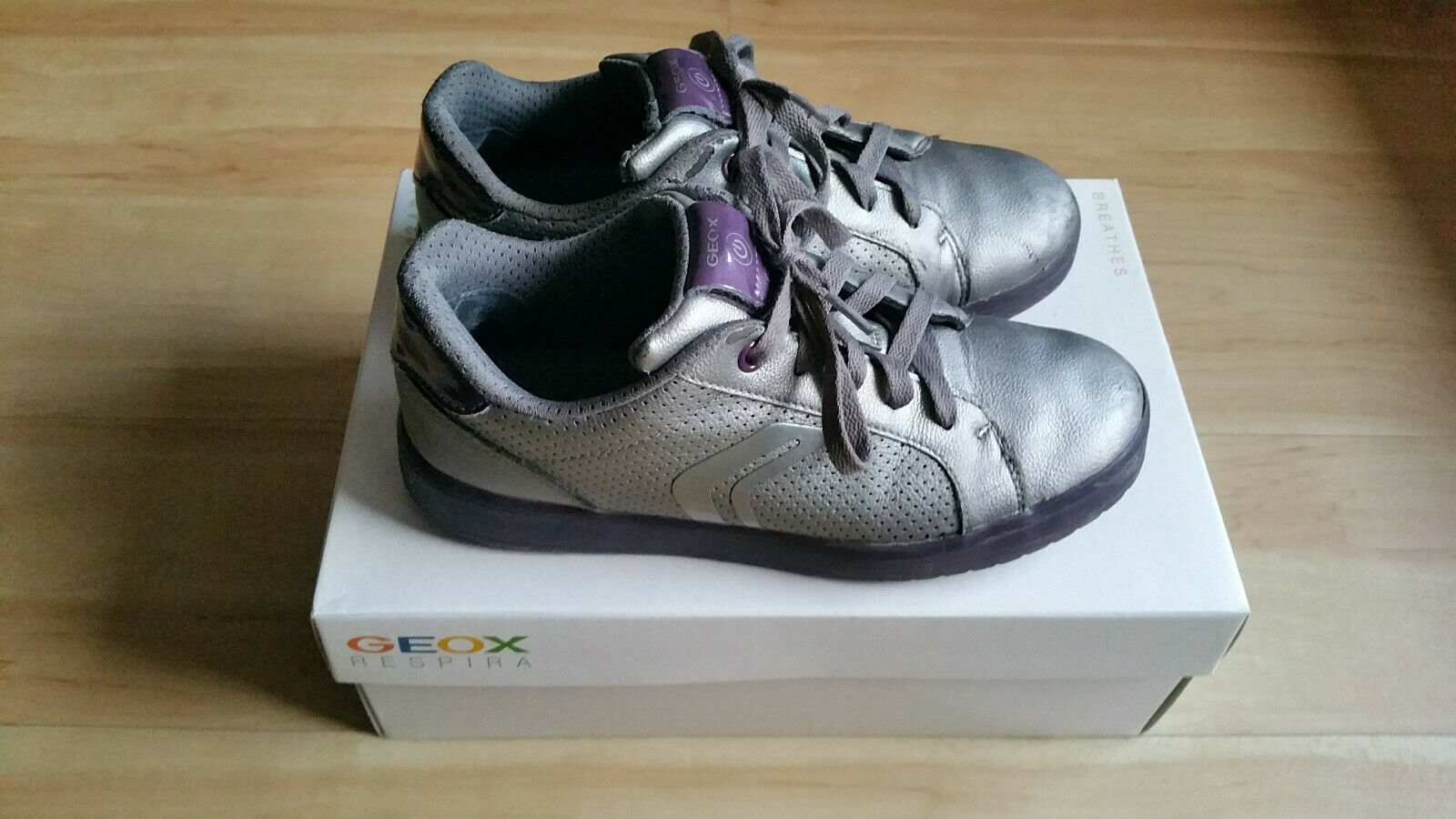 GEOX Schuhe Halbschuhe Sneakers Mädchen Gr. 37 GEOX