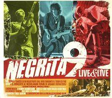 NEGRITA - 9 LIVE & LIVE  -  CD+DVD  NUOVO SIGILLATO
