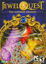 New Jewel Quest 6 The Sapphire Dragon PC Puzzle Match Game Sealed CD-ROM So Fun!