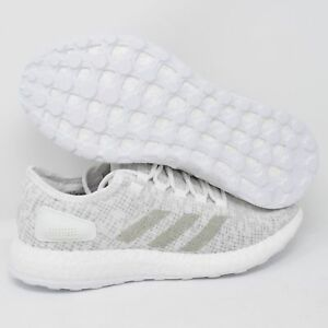 70f6698f5a674 Image is loading Adidas-PureBOOST-S81991-Mens-Running-Shoes-Crystal-White