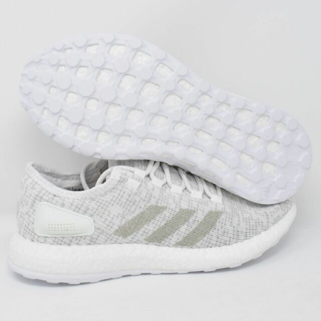 c9f30d4c5 adidas Pureboost S81991 Men Running Shoes White grey-white Multi Size 8