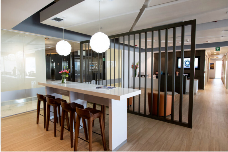 Oficina En Renta En Centro De Negocios En Torre Porsche Para 8 Personas (m2o73)